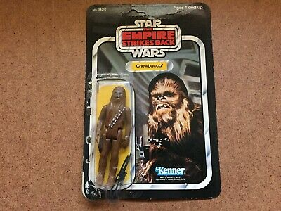 Vintage Kenner Star Wars The Empire Strikes Back Chewbacca Action Figure