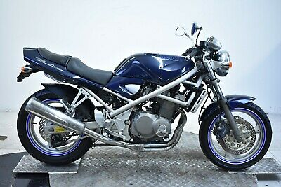 Suzuki Gsf400 Bandit-Blue-1990 -Fresh Japanese Import-Clean Spring Project-Nice
