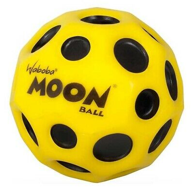 Waboba Moon Ball Extreme Bouncing Crazy Spinning Ball Yellow