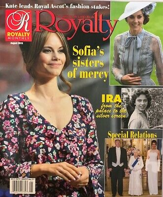 Royalty Magazine   -  August 2019  -   Sofia's Sister Of Mercy