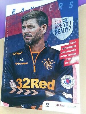 GLASGOW RANGERS   v  DERBY COUNTY   2019/20  PRE-SEASON FRIENDLY     JULY 28