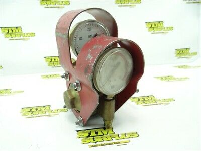 Two Stage Acetylene Torch Regulator Airco W/ Guard
