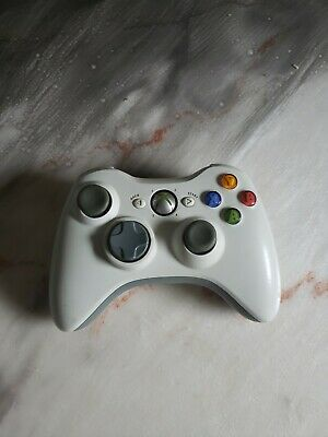 MICROSOFT OEM XBOX 360 Wireless Controller, White, For Parts or
