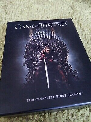 Game of Thrones The Complete First Season 1 -Blu-ray 5-Disc Digital Code