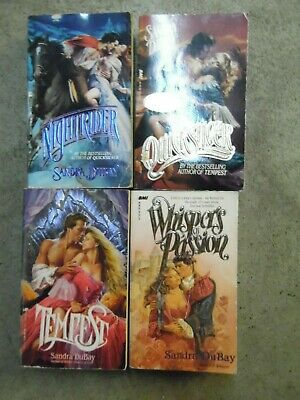 Lot of 4 Sandra Dubay Historical Romance Paperback Books