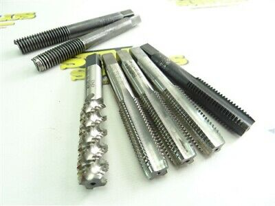 """Pair Of 1/2""""-13 Helicoil Insertion Tools + 5 Assorted Hss Taps"""