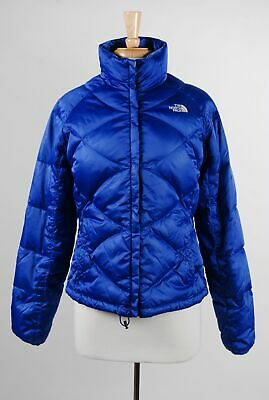 d3ae03bf8 THE NORTH FACE Down Jacket Girls XL Silver/Gray Nuptse 550 Fill ...
