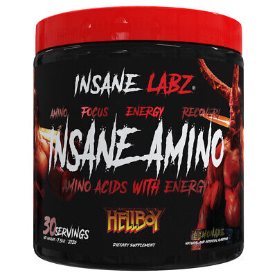 Insane Labz - Insane Amino Hellboy Edition - Bcaa Intra Workout With Energy