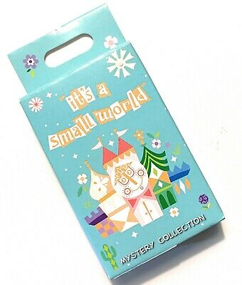 Disney Parks It's A Small World 2 Pin Mystery Character Box Pack Sealed - NEW