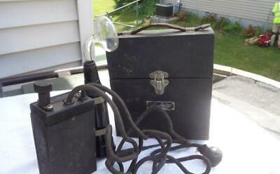 De Mooy Electric Co Violet Ray Medical Device Quack Medicine NOT TESTED Cloth Po