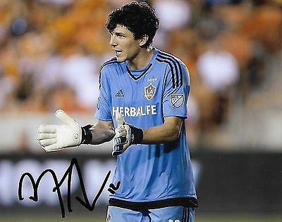 Los Angeles Galaxy Brian Rowe Autographed Signed 8x10 MLS Photo COA M