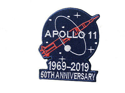 Apollo 11 Patch 50Th Anniversary 1969 - 2019 Nasa Space Limited Edition