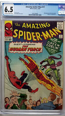 Amazing Spider-Man #17 CGC 6.5 Fine+  2nd Appearance Green Goblin