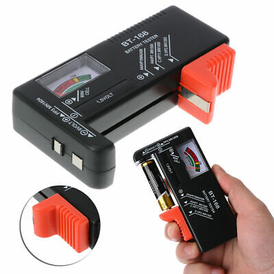 Digital LCD Battery Tester Volt Checker BT-168D  For 9V 1.5V AA AAA
