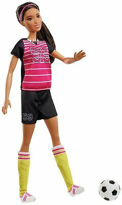 Barbie: I Can Be a Footballer (60th Career Doll)