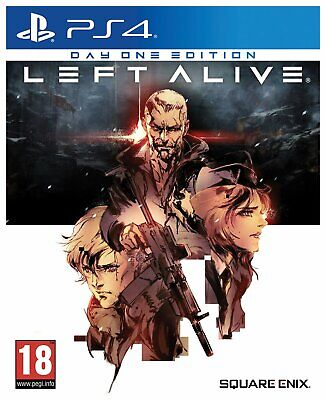 Left Alive: Day One Edition Sony Playstation PS4 Game 18+ Years