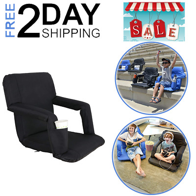 Chair Bleacher Seats For Camping Watching Games Pocket Portable Folding Durable
