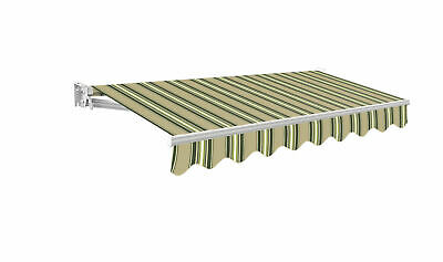 Primrose Patio Awning Manual Garden Shade Outdoor Canopy Retractable USED 2.0 m