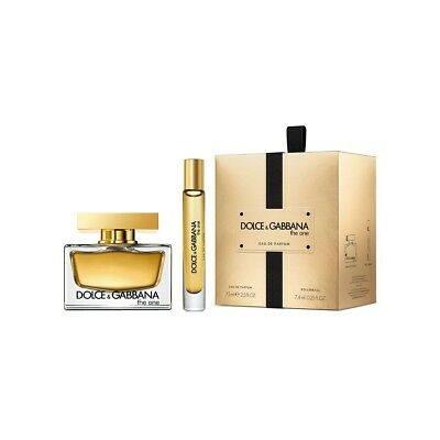 Dolce & Gabbana The One 75 ml EDP Spray + 7,4 ml Rollerball im SET OVP!