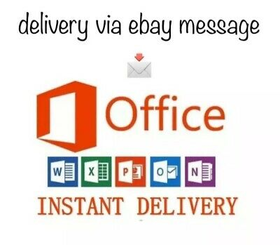 Ms Office 365 Home Subscription 5 Users PC/Mac | Lifetime+ 5TB Cloud