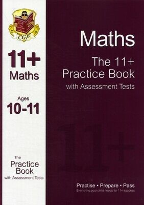 11+ Maths Practice Book with Assessment Tests (Ages 10-11) (Paper...