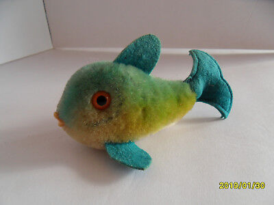 Steiff fish mohair small stuffed animal made in Germany 2685