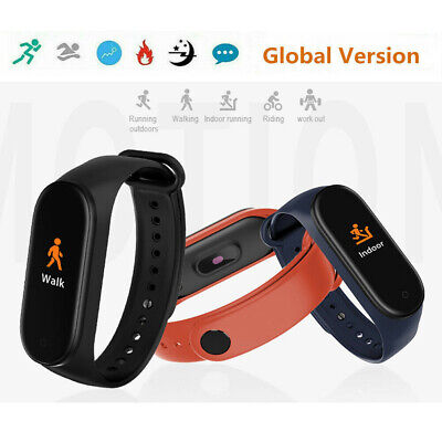 For Xiaomi Mi Band4 Newest BT 5.0 Music Smart Bracelet Heart Rate Global Version