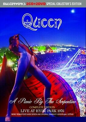 Queen A Picnic By The Serpentine Live At Hyde Park 1976 Complete (2Cd+2Dvd) F/S