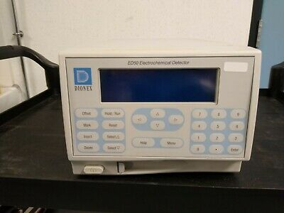 Dionex ED50A Electrochemical Detector HPLC Chromatography