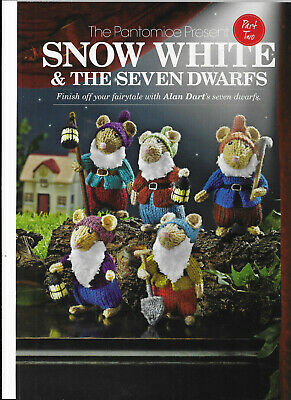 Alan Dart Snow White & The Seven Dwarfs Pantomice Mouse Mice Knitting Pattern