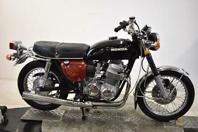 1972 Honda CB750K2 Unregistered US Import Barn Find Classic Restoration Project