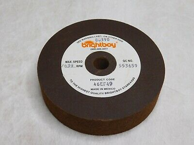 "Brightboy 46GF106 10/"" x 10mm x 1-1//4/"" Polishing Wheel"