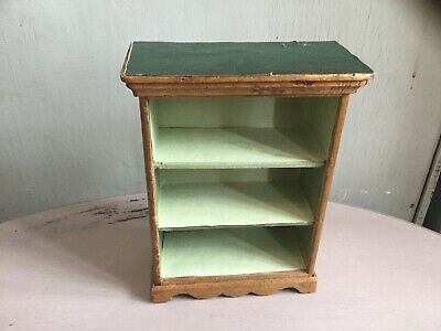 Charming Antique Old Miniature Wooden Dresser Large Scale Dolls House-Miniatures
