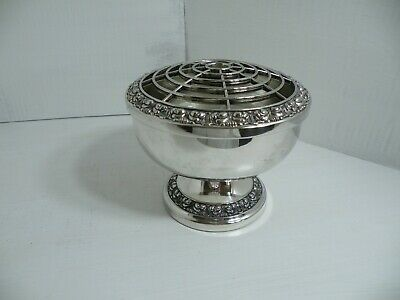 Lovely Vintage Silver-Plated Rose Bowl, Ianthe Of England