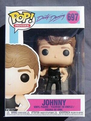 Johnny Marca Dirty Dancing Movies Pop Funko Vinilo Figura N º 697 Prof Baile