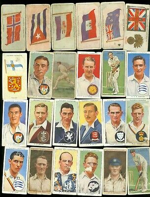 1920s 1930s HUGE Tobacco Card Lot (146) John Player Wills Gallaher - Poor to VG