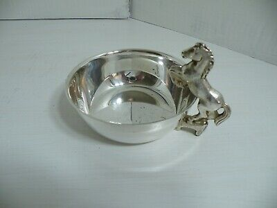 Vintage Silver Plated Wine Tasting Cup Viners Sheffield England
