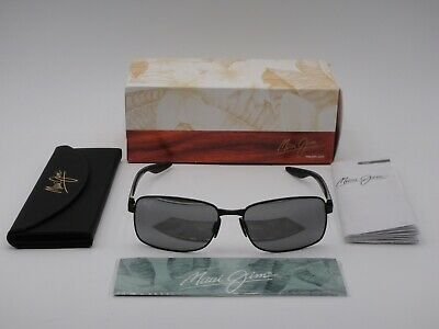 b3b36da8a42b Maui Jim Shoal Polarized Sunglasses 797-2M Gunmetal Black/Neutral Grey Glass