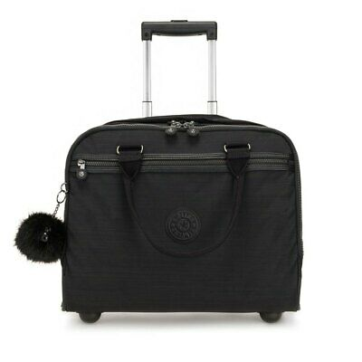 Kipling New Ceroc Negro T54153/ Trolleys Unisex Negro , Trolleys Kipling , moda