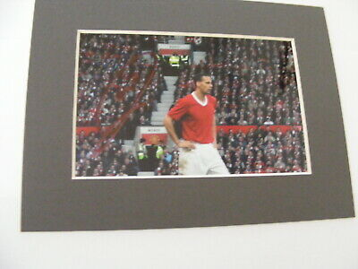 RIO FERDINAND Signed Photo Autograph Manchester United England