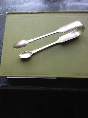 Fully Hallmarked Silver 1851 Exeter Sugar Nips/Tongs Approx 40grms.