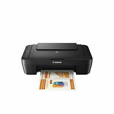 Canon PIXMA MG2525 Photo All-in-One Inkjet Printer with Scanner and Copier Black