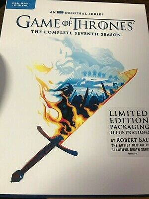 Game of Thrones COMPLETE Season 7 (Blu Ray + Digital) Limited Edition