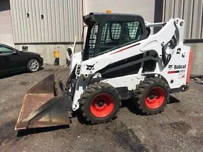 2014 BOBCAT T590 Compact Track Loader Skid Steer Aux Hyd Rubber