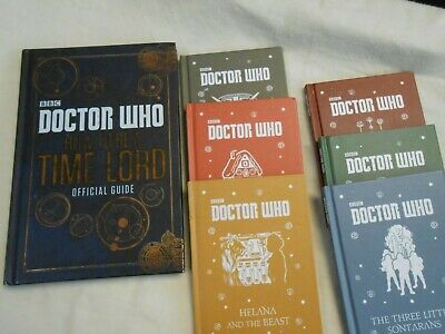 Lot of 7 DOCTOR WHO PB BBC Books 6 Children Stories + How to Be a Time Lord