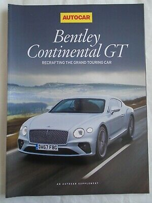 Bentley Continental GT by Autocar 2017