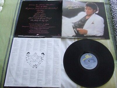 Michael Jackson Lp Album Thriller Epc 85930 Gatefold