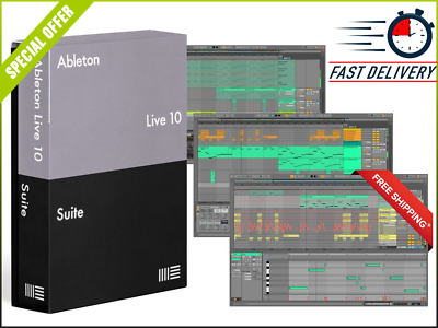 ABLETON LIVE 10 STANDARD - Music Production Software, DAW (Boxed