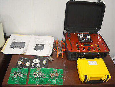 Hagerman VacuTraceVacuum Tube Curve Tracer w/ manual and adapter cards