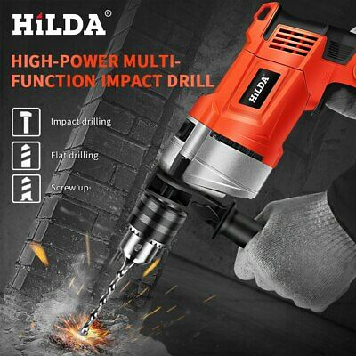 HILDA Impact electric drill Electric Rotary Hammer with BMC and 5pcs